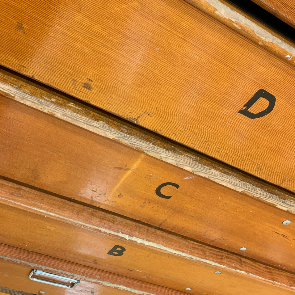 Vintage Bleacher wood