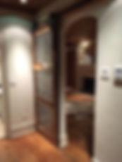 rclaied barnwood and zinc doors