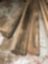 reclaimed chestnut beams