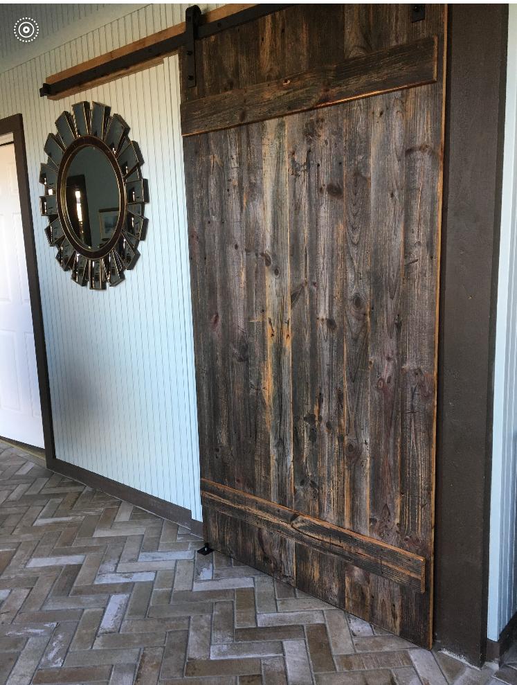 Reworx Reclaimed Wood Sliding Barn Doors