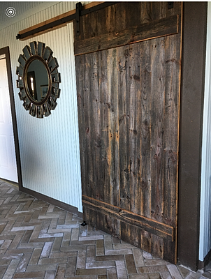 Reworx Reclaimed Wood Sliding Barn Doors