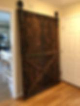 rclaimed wood barn door