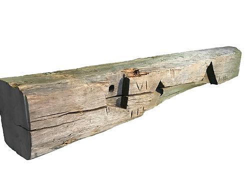 Reclaimed Wood Mantel #22-Hemlock