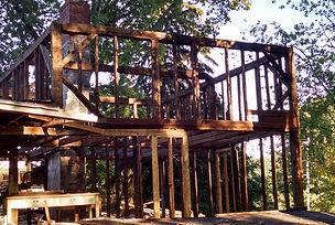 Relaimed barn - Lakeside Inn, the old Lakeside, Morris, Connecticut
