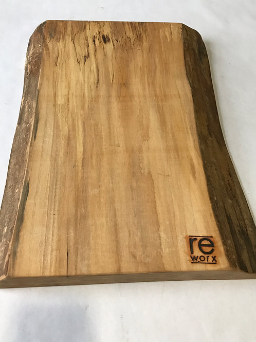 Live Edge Spalted Maple Serving Board