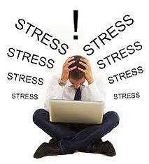 il s'agit d'une personne stressé, fatigué