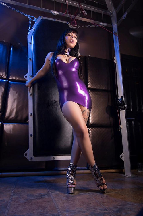 Signed 8x10 - Purple Latex
