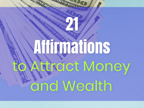 21 Money & Business  Affirmations to Attract Wealth and Abundance