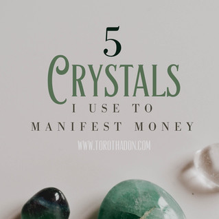 5 Crystals to Manifest Money and Wealth