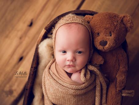 Awake Photos of Newborns