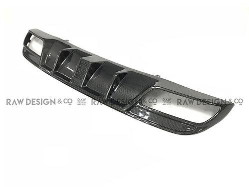 Carbon Fibre Rear Diffuser for Mercedes C43 / C63 AMG W205 Saloon