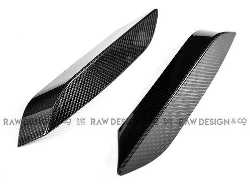 Carbon Fibre Bumper Canard Splitter for BMW F82 M4