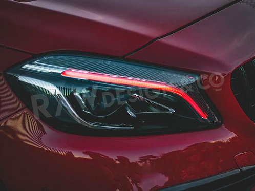 Colour Shift Daytime Running Light Units for Mercedes A Class / A45 AMG W176