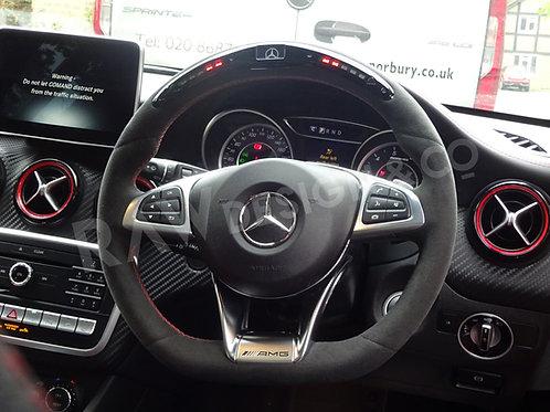 Mercedes AMG LED steering wheel