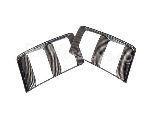 Dry Carbon Fibre Front Air Intake for Audi R8 4S