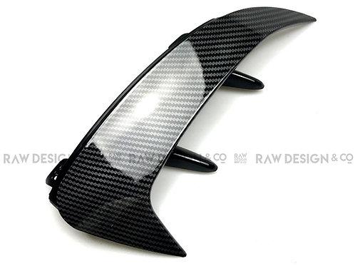 Carbon Fibre Rear Bumper Canards for Mercedes A-Class W177