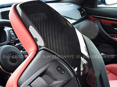 Carbon Fibre Seat Back Covers for BMW F82 M4