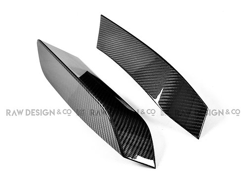 Carbon Fibre Bumper Canard Splitter for BMW F80 M3