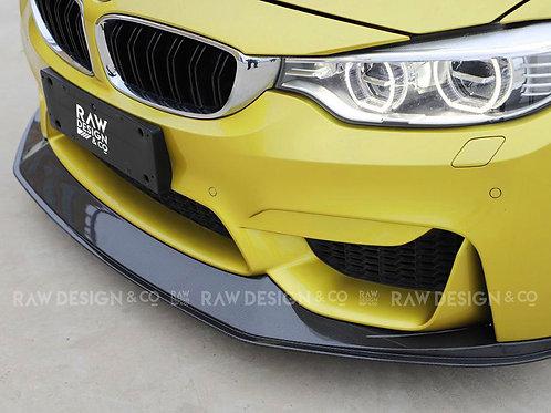 Carbon Fibre Front Lip Splitter for BMW F82 M4