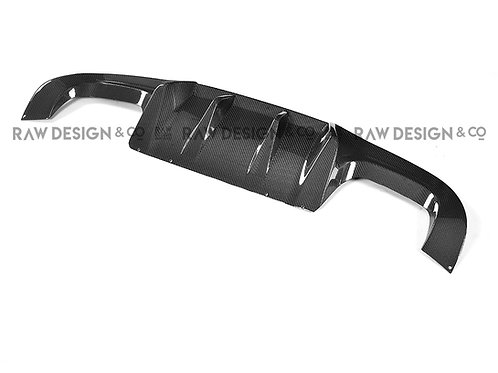 Carbon Fibre Rear Diffuser for BMW F87 M2