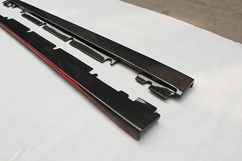 Carbon Fibre Side Skirts for Mercedes A45 AMG / AMG-Line