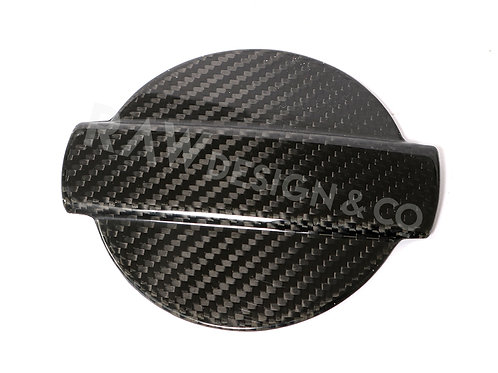Carbon Fibre Fuel Cap Cover for Audi TT 8S