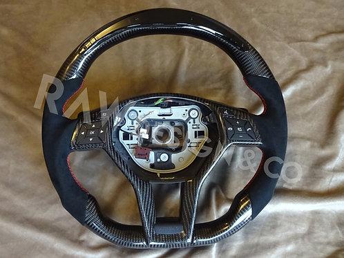 2013 - 2015 Mercedes A45 AMG (PFL) Custom Carbon Fibre Steering Wheel