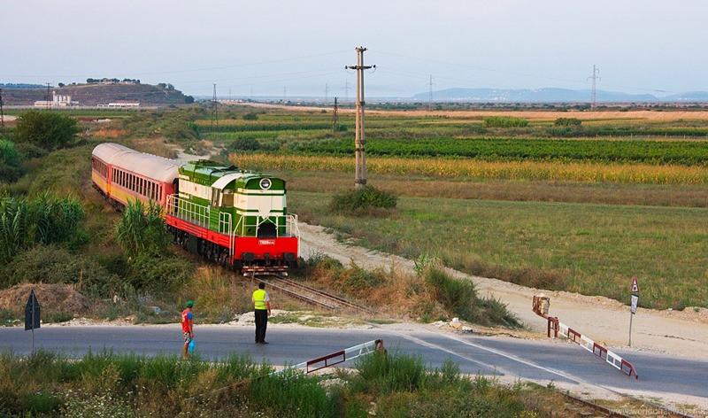 Train Albanie
