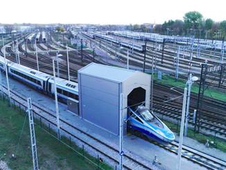 Alstom installe son premier  TrainScanner continental à Varsovie