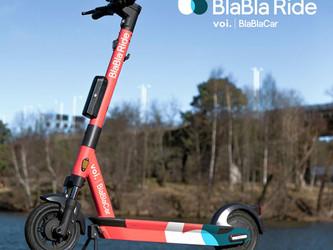 les trottinettes Voi deviennent BlaBla Ride en France