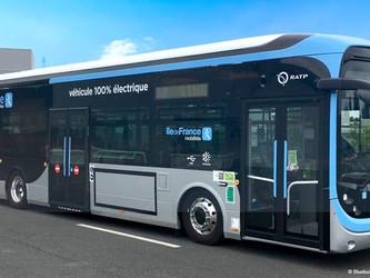 IDFM commande 109 Bluebus de plus
