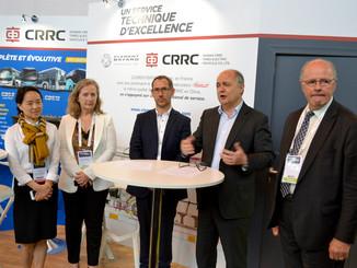 CRRC signe avec Trouillet Mobilités