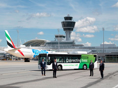 Munich : un bus d'aéroport transformé en hybride