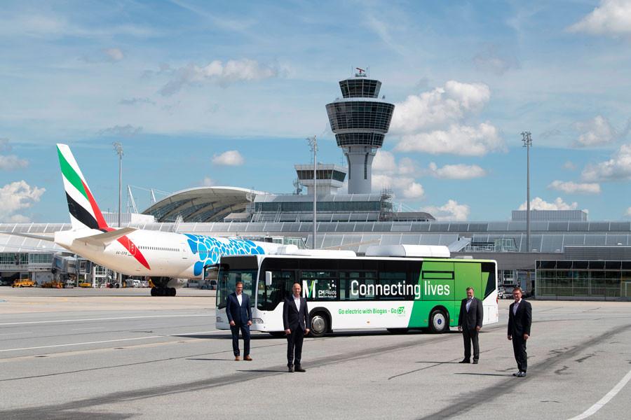 bus aéroport a Munich
