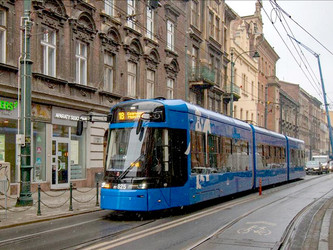 Cracovie teste un tramway Stadler sans caténaires