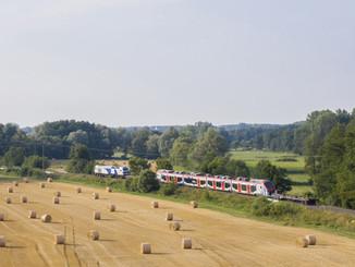 Alstom a livré les premiers Coradia Polyvalent à Régiolis Léman Express
