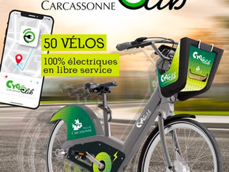 Smoove lance CYCLOlib à Carcassonne