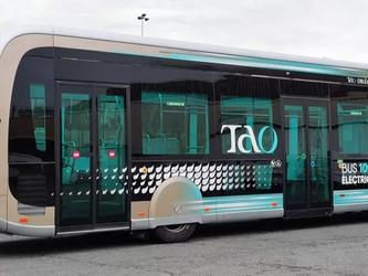 Orléans Métropole réceptionne son premier bus électrique