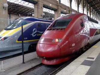 Thalys, Eurostar, Lyria, grande vitesse et grandes manœuvres