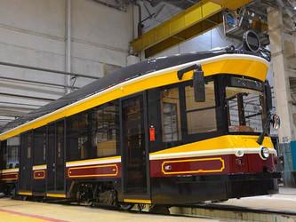 Uraltransmash passe du tram futuriste au tram rétro