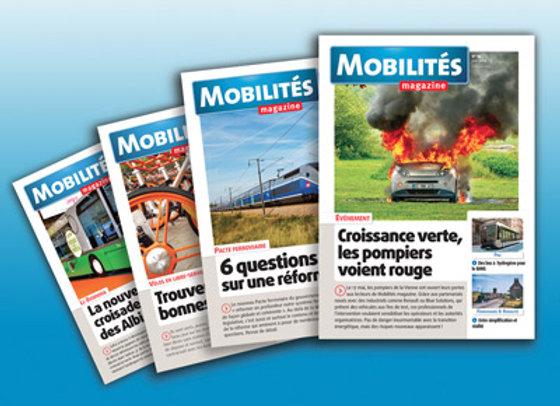 Mobilités Magazine - France métropolitaine - abonnement 1 an