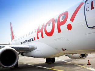 Deux nouvelles lignes saisonnières pour HOP ! Air France