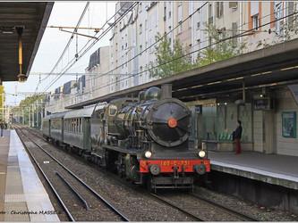Célébration à toute vapeur pour le cinquantenaire du RER A