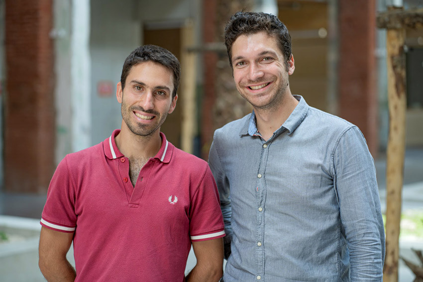 Adrien Rambaud et Jean Venet, co-fondateurs de Morio.