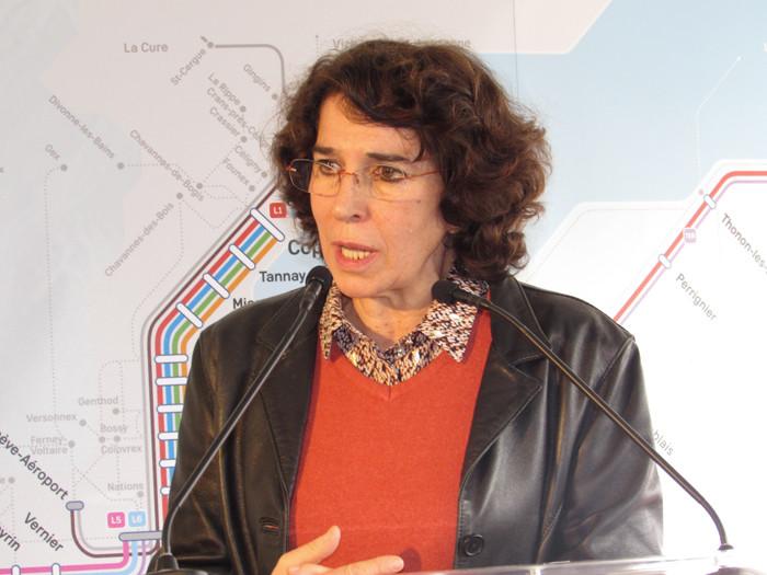 Martine Guibert, vice-présidente d'Auvergne-Rhône-Alpes en charge des Transports