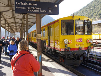 Jean Castex, la Cerdagne et le Train jaune