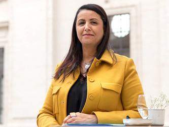 Fouziya Bouzerda, présidente du Sytral