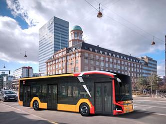 Copenhague commande 25 MAN Lion's City E