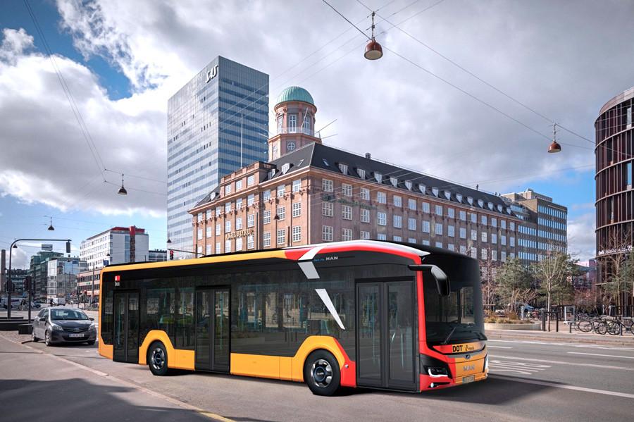 autobus électrique Lion's City 12 E