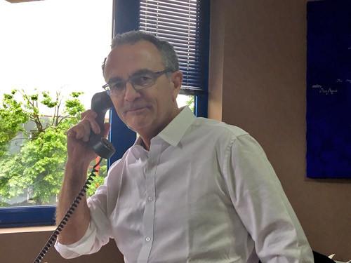 Gérard Luret, directeur du service Voyages d'affaires chez Bleu Voyages.